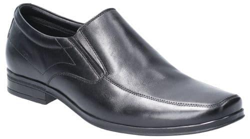 Hush Puppies Billy Slip On Mens Shoes Black